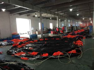 50 Man Throw Over Type Open Inflatable Life Raft pictures & photos