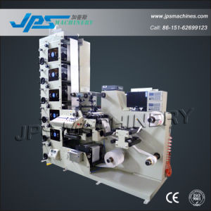 Label Flexo Graphic Printing Machine with Sitting Function pictures & photos