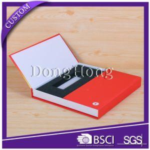 Rigid Black Paper Credit Card Holder Presentation Boxes pictures & photos