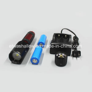 Rechargeable Ipx7 20W CREE LED Flashlight pictures & photos