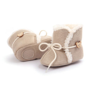 Baby Boots, Winter Warm Infant Newborn Snow Boots Crib Shoes Prewalker Boy Girl pictures & photos