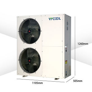 Commerical Heat Pump Water Heater Low Temperature Air Water Heat Pump -25 Centigrade pictures & photos