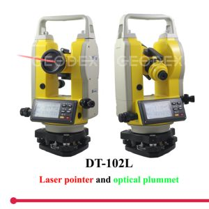 Electronic Laser Digital Theodolite Surveying Instrument pictures & photos