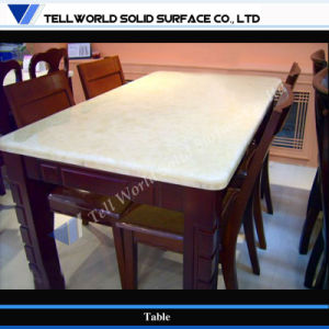 Tell World China Supply Square 8 Seat Restaurant Dining Table pictures & photos