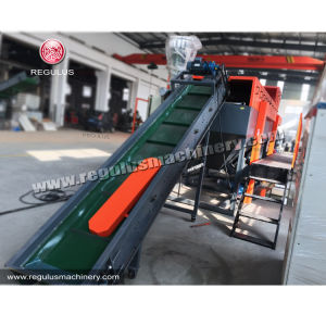 PE/PP Rigd Flakes Plastic Recycle Machine pictures & photos