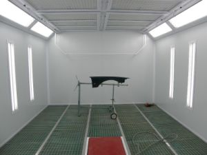 Big Air Volume Spray Painting Booth Car Paint Room with Ce pictures & photos