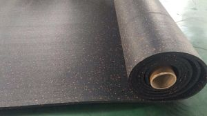 Fitness Commercial Fleck Rubber Floor for Gym pictures & photos