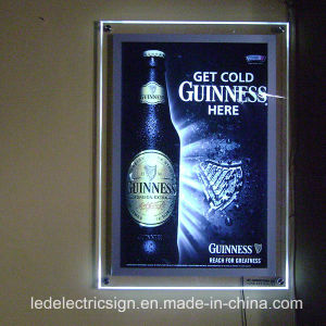 LED Crystal Light Picture Frame Light Box pictures & photos