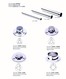 Furniture Fittings Wardrobe Tube & Tube Support pictures & photos