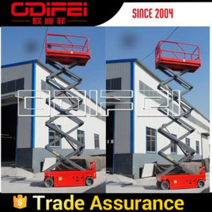 Self-Propelled Mobile Electric Lift Table 2000kg
