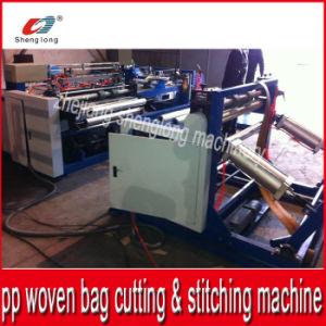 Auto PP Woven Bag Bottom Cutting Stitching Machine pictures & photos