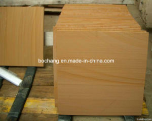 Natural Yellow Sandstone Tile for Wall Decoration pictures & photos