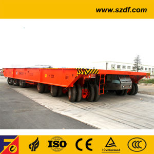 Self-Propelled Heavy-Duty Flatbed Trailer (DCY430) pictures & photos