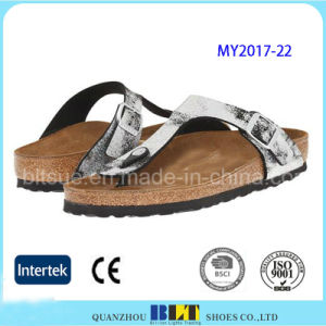 Fasahion Flip Flops Flat Men Slippers pictures & photos