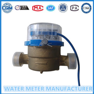 Single Jet Pulse Water Meter Brass Body pictures & photos