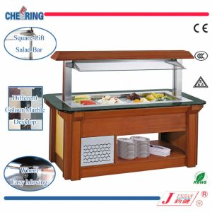 Luxury Table Top Wooden Salad Bar for Buffet pictures & photos