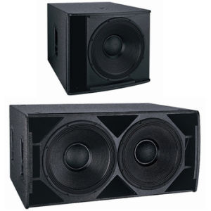18-Inch PA Subwoofer Bass Speakers +DJ Equipment pictures & photos