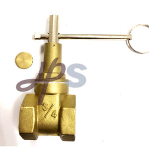 Forging Brass Lockalbe Gate Valve Pn16 pictures & photos
