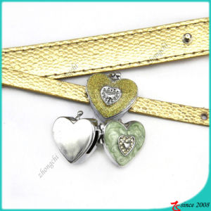 Large Heart Locket Slider Charms Wholesale (SC16040944)