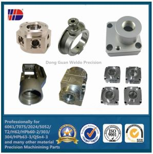 High Precision CNC Machining Parts with Stainless Steel (WKC-10) pictures & photos