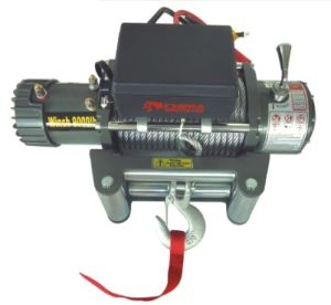 Electric Winch Cm9000lb 12V/24V, Approved Ce for SUV pictures & photos