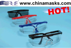 Clear Protective Eye Protector Welding Goggle with CE