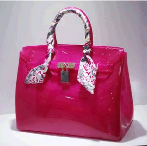 Guangzhou Suppliers Fashionable Designer Jelly Handbag Ladies Women Handbag (J-1010) pictures & photos