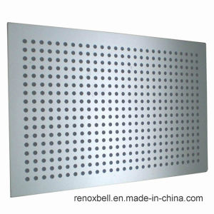 Gray Color PVDF Coating Punching Aluminum Cladding Panel pictures & photos