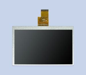 ODM Innolux 7 Inch Screen LCD Display/1024X600 with High Resolution 40pin Ttl pictures & photos