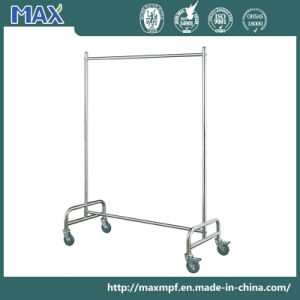Durable Stainless Steel Clothe Hanger Display Rack pictures & photos