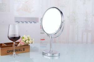 """8"""" Double Sided Stand up Brass Table Cosmetic Mirror pictures & photos"""