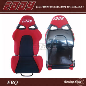 China Manufacturer Bride Cuga Rally Car Seats Stadium Seat with Fiberglass Backing and Red Velvet Fabric