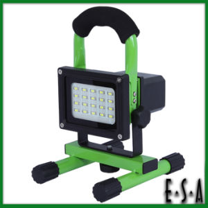 Rechargeable 20PCS Super 5730 SMD LED Flood Light/Lawn Lamp, 8W SMD LED Flood Light Portable Flood Lamp Outdoor Lighting G05b113 pictures & photos