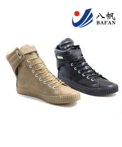Men Fashion Casual Canvas Flat Running Travlling Shoes (bfm0381) pictures & photos