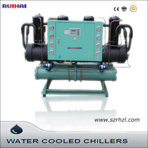 High Price Efficiency Water Cooled Scroll Type Chiller pictures & photos