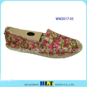 Brand Colourful Pattent Casual Shoes for Women pictures & photos