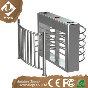 Automatic Full Height Turnstile Gate with Access Reader/ Facial Recognition pictures & photos