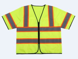 High Reflective Safety Vests with Short Sleeves pictures & photos
