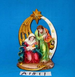 Polyresin Nativity Set for Christmas Decoration pictures & photos