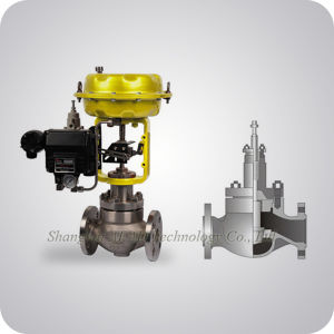 Pneumatic Single Seat Control Valve China Supplier pictures & photos