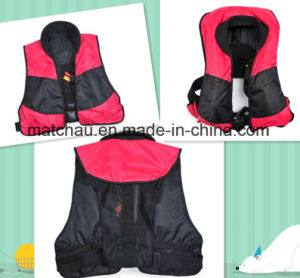 Marine Light Weight Rescue Inflatable Life Jacket pictures & photos