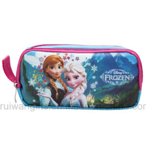School Stationery Pencil Case with Frozen Cartoon Design for Children pictures & photos