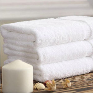 White Face Towel for Hotel pictures & photos