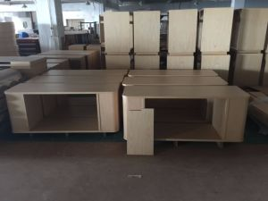 Hotel Furniture/Luxury Double Hotel Bedroom Furniture/Standard Hotel Double Bedroom Suite/Double Hospitality Guest Room Furniture (GLB-0109808) pictures & photos