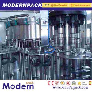 Beer and Soda Aluminum Can/Pet Plastic Can Filling Machine pictures & photos