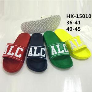 New Style Print Letter Unisex EVA Beach Slipper Sandal (HK-15010) pictures & photos