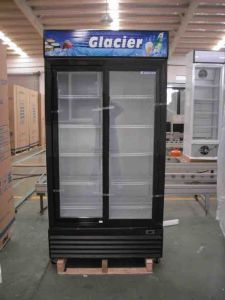 Double Door Upright Cooler (LG-1000D) pictures & photos