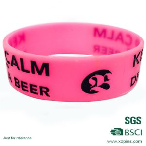Custom Design Colorful Silicone Bracelet for Promotion pictures & photos