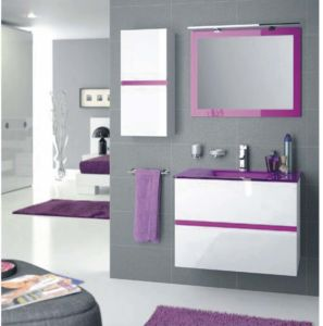 Moden Design PVC Bathroom Cabinet with Sink pictures & photos