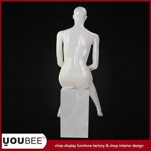 Elegant Sitting Female Fiberglass Mannequin pictures & photos